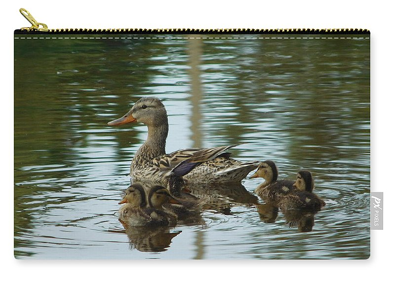 Nature Carry-all Pouch featuring the photograph Mother by Nicholas Haddox