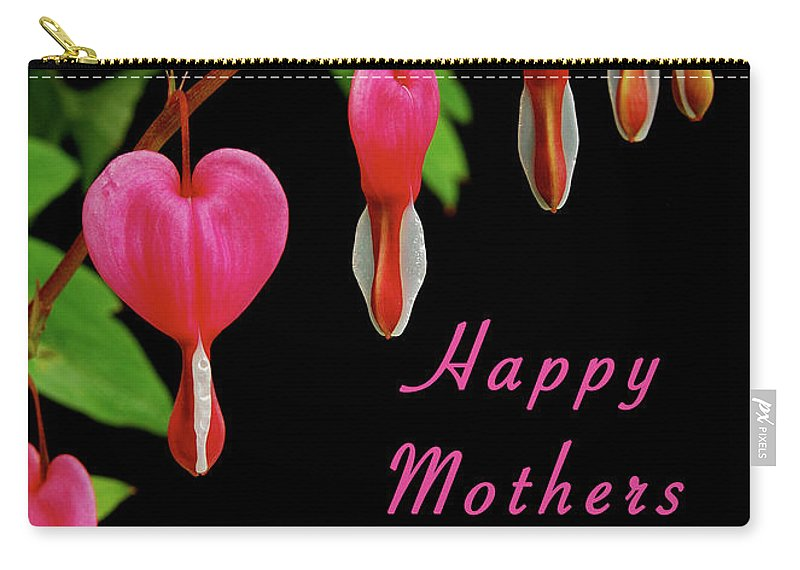 Mother Carry-all Pouch featuring the photograph Mothers Day Card 6 by Michael Peychich