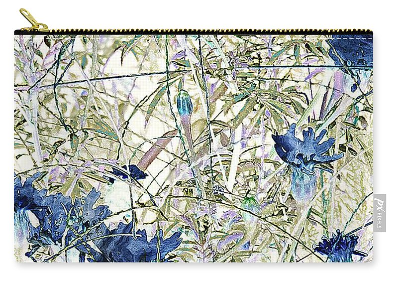 Asian Carry-all Pouch featuring the painting Motif Japonica No. 10 by RC DeWinter