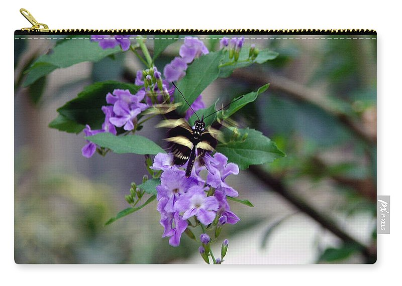 Butterfly Carry-all Pouch featuring the photograph Motion by Robert Meanor