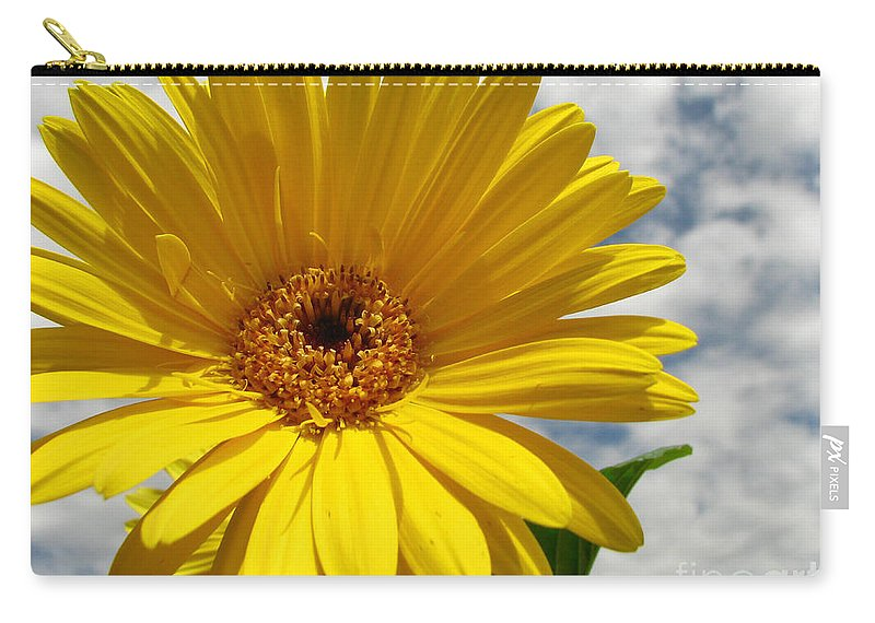 Floral Carry-all Pouch featuring the photograph Motivation by Amanda Barcon