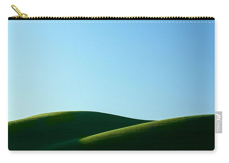 Simplicity Carry-all Pouch featuring the photograph Mounds by Todd Klassy