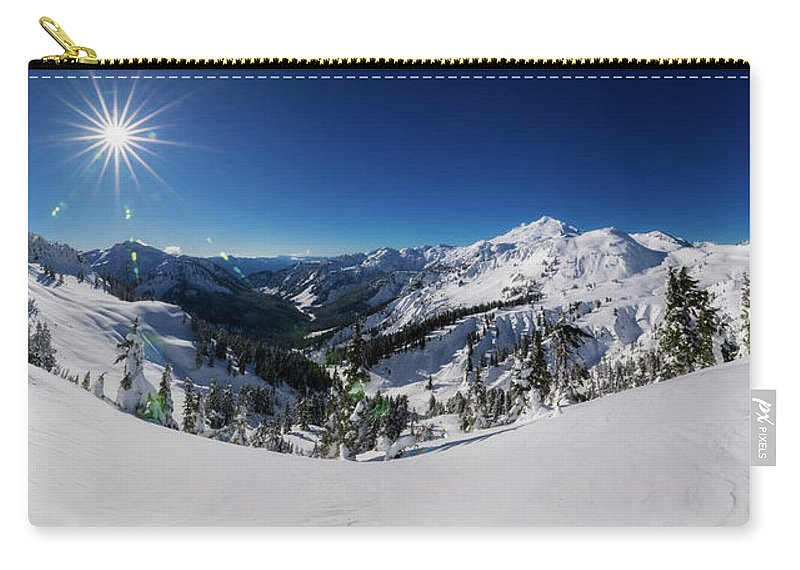 Baker Carry-all Pouch featuring the photograph Mount Baker 2 by Pelo Blanco Photo