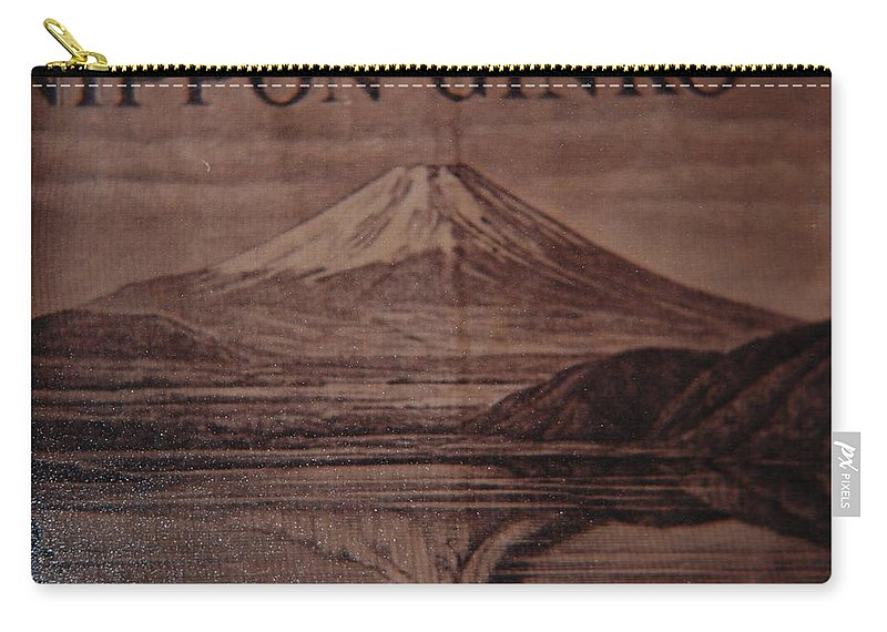 Mount Fuji Carry-all Pouch featuring the photograph Mount Fuji by Rob Hans
