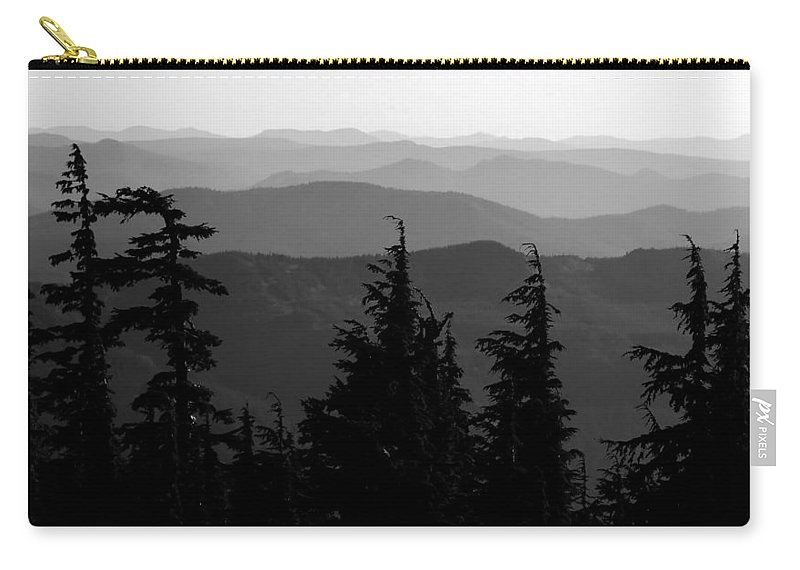 Mount Hood National Forest Carry-all Pouch featuring the photograph Mount Hood National Forest by David Lee Thompson