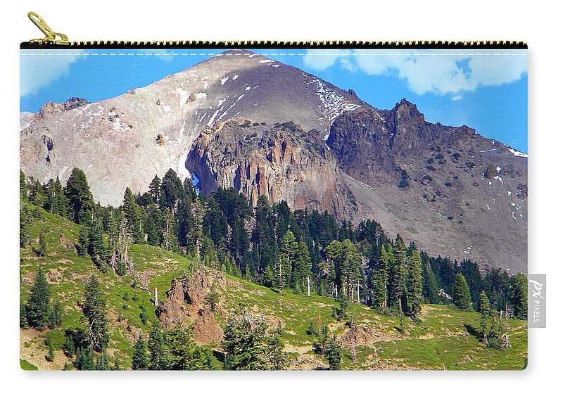 Frank Wilson Carry-all Pouch featuring the photograph Mount Lassen Volcano by Frank Wilson