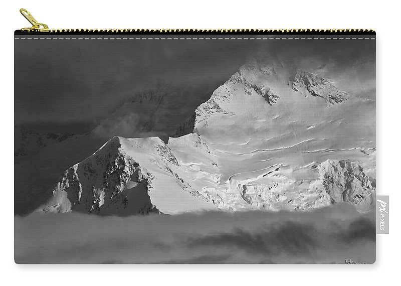 Alaska Carry-all Pouch featuring the photograph Mount Mckinley by Max Steinwald