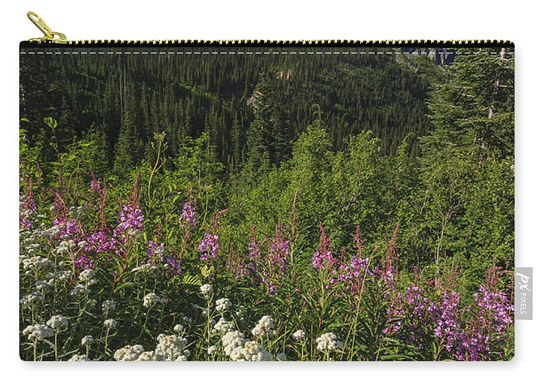 3scape Carry-all Pouch featuring the photograph Mount Rainier by Adam Romanowicz