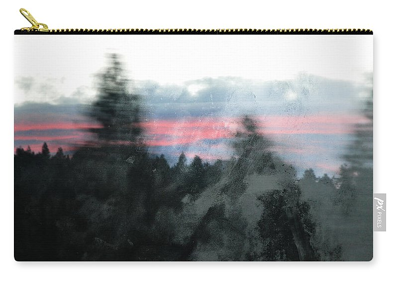 California Carry-all Pouch featuring the photograph Mount Shasta Forest Sunrise by Kyle Hanson