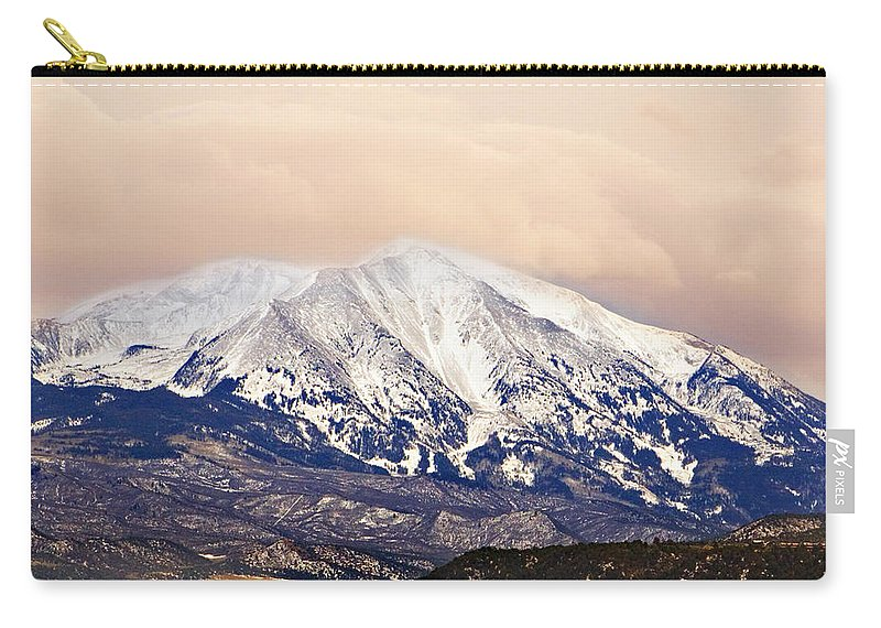 Americana Carry-all Pouch featuring the photograph Mount Sopris by Marilyn Hunt