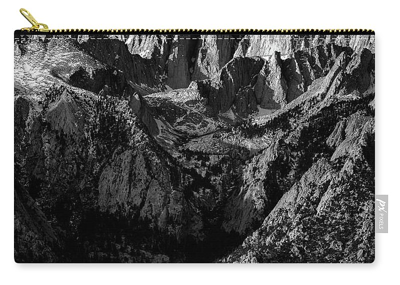 Mount Whitney Carry-all Pouch featuring the photograph Mount Whitney by Evver Gonzalez
