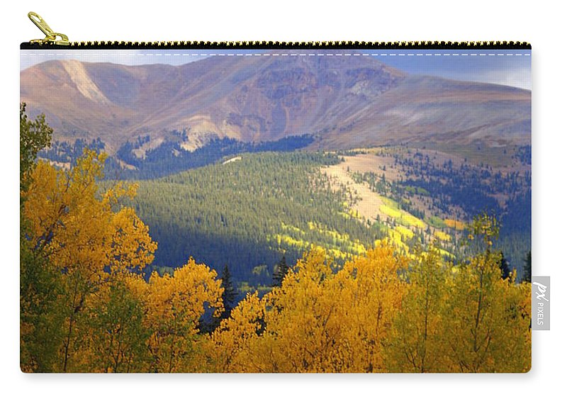 Colorado Carry-all Pouch featuring the photograph Mountain Fall by Marty Koch