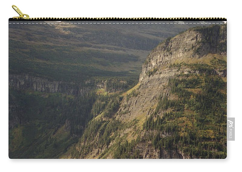 Glacier Carry-all Pouch featuring the photograph Mountain Glacier by Richard Rizzo