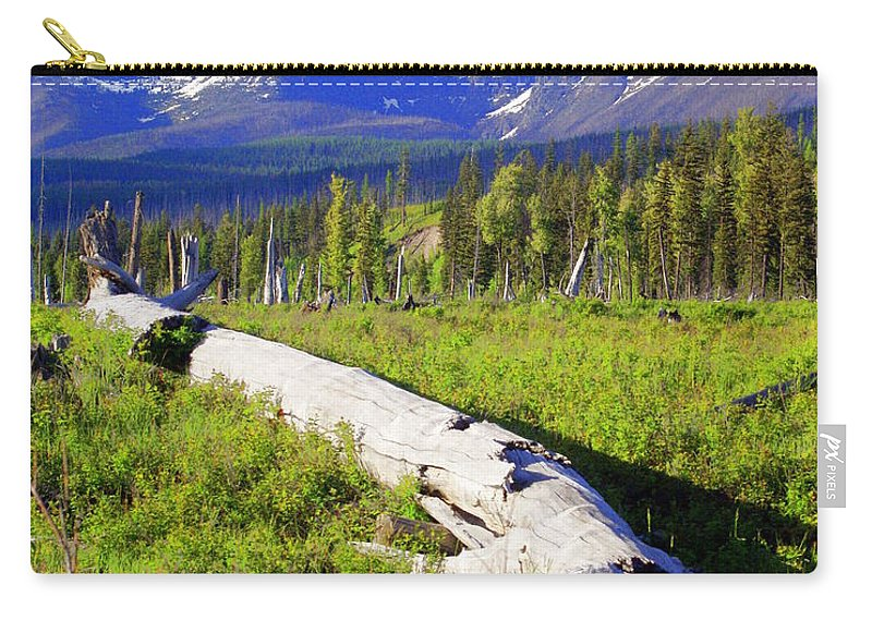 Mountain Carry-all Pouch featuring the photograph Mountain Splendor by Marty Koch