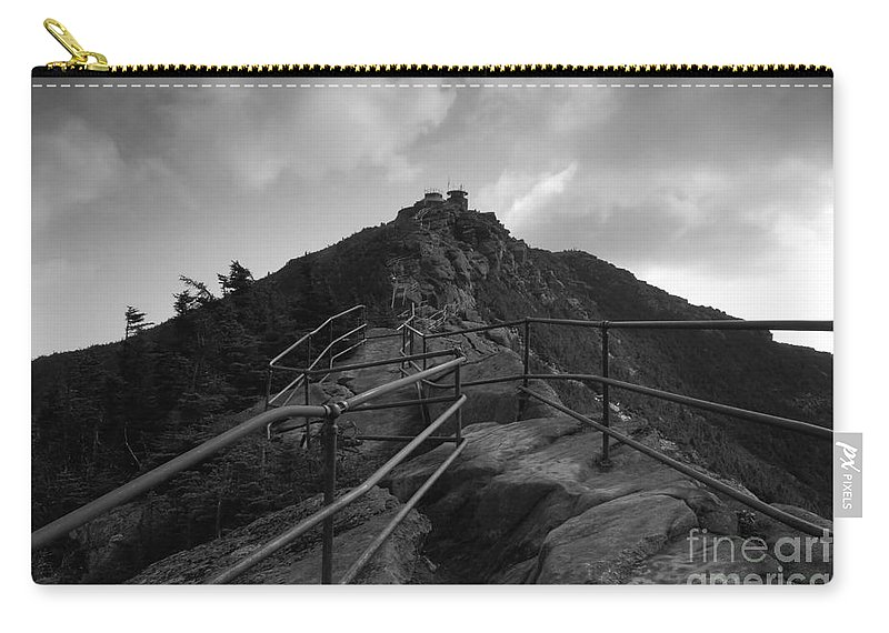 White Face Mountain New York Carry-all Pouch featuring the photograph Mountain Trail by David Lee Thompson