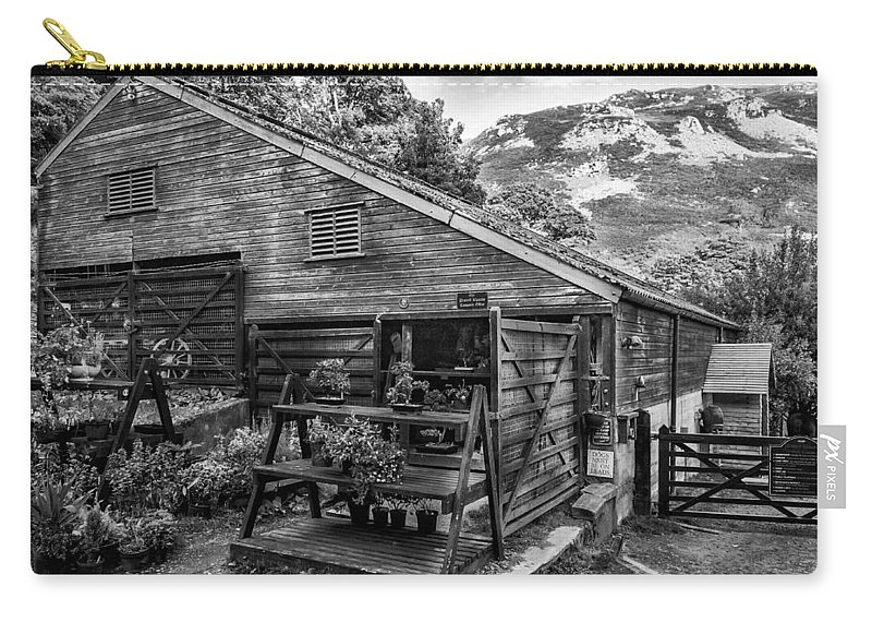 Workshop Carry-all Pouch featuring the photograph Mountain Workshop by Nick Bywater