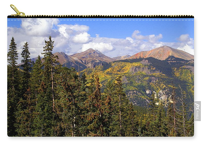 Colorado Carry-all Pouch featuring the photograph Mountains Aglow by Marty Koch