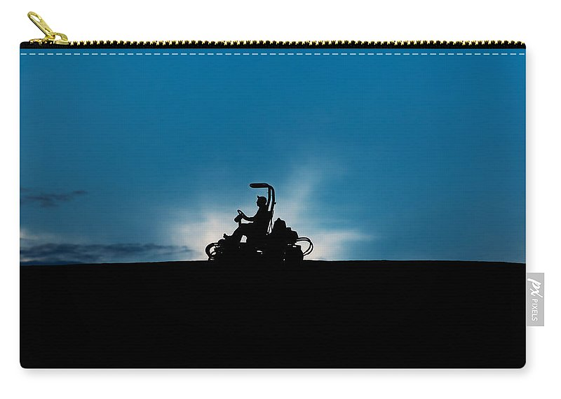 Lawn Carry-all Pouch featuring the photograph Mover by U Schade