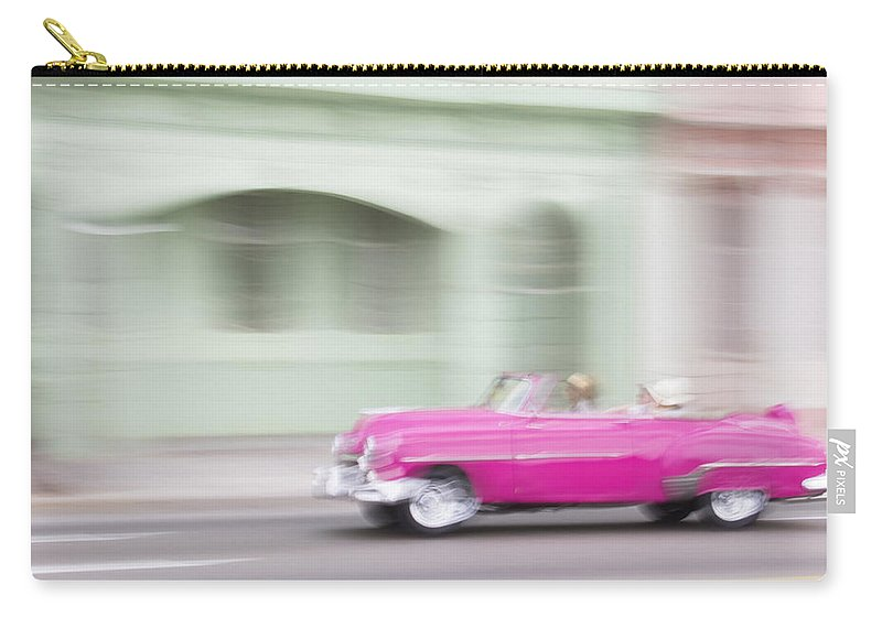 Caribbean Carry-all Pouch featuring the photograph Moving Antique by Dan Leffel
