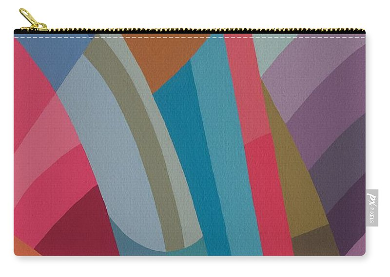 Abstract Carry-all Pouch featuring the painting Moving On by Sarah Gillard