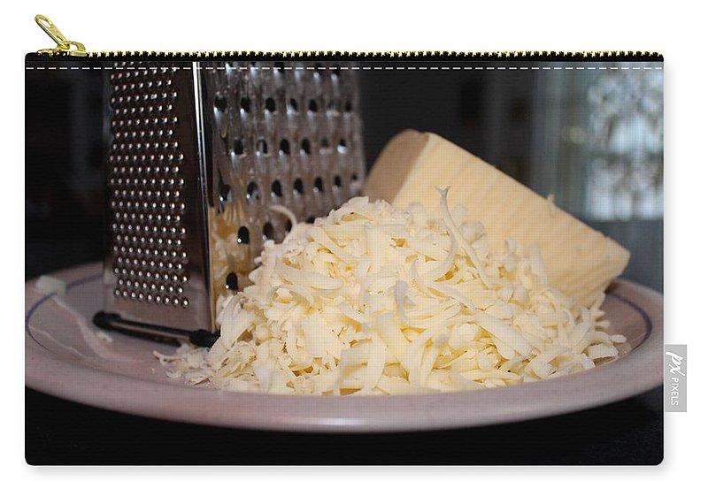 Mozzarella Carry-all Pouch featuring the photograph Mozzarella by Michiale Schneider