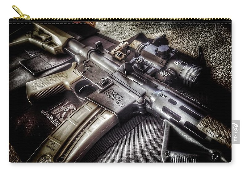 Magpul Carry-all Pouch featuring the photograph Mp1522 by Brad Walters