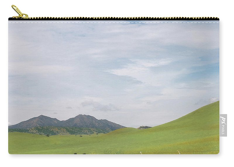 Landscape Carry-all Pouch featuring the photograph Mt. Diablo Mcr 1 by Karen W Meyer