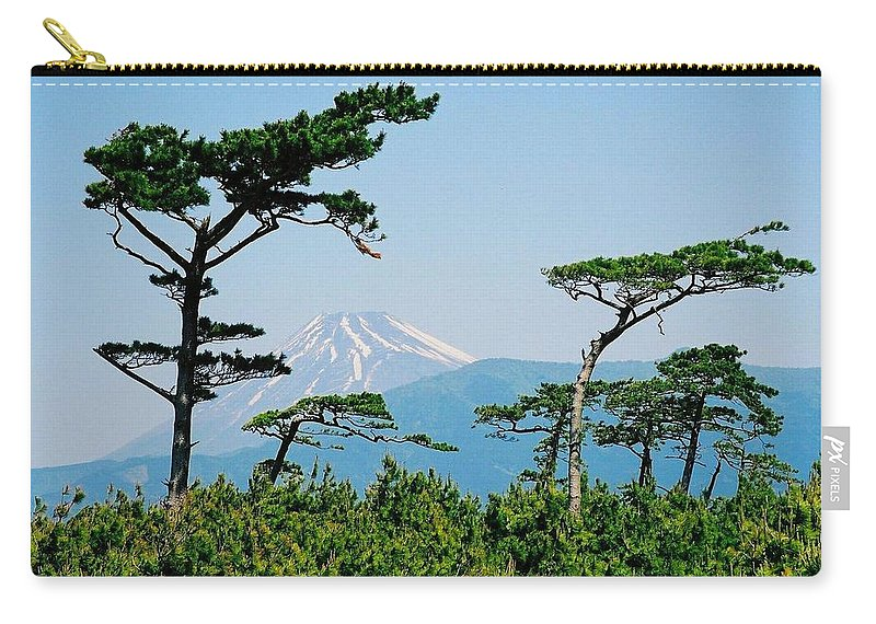 Asia Carry-all Pouch featuring the photograph Mt. Fuji ... by Juergen Weiss