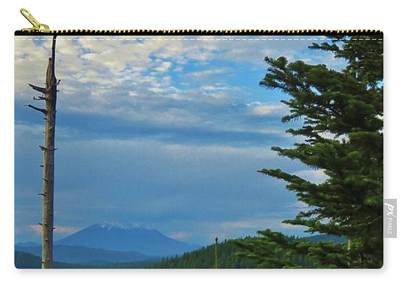 Mountain Carry-all Pouch featuring the photograph Mt. St. Helens by Mel Manning