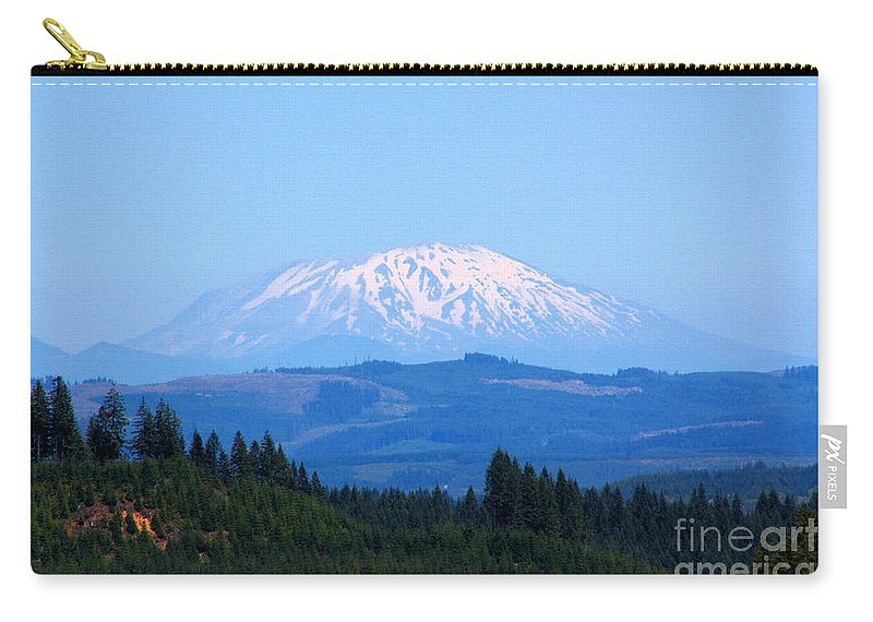 Mountains Carry-all Pouch featuring the photograph Mt. St. Helens by Nick Gustafson