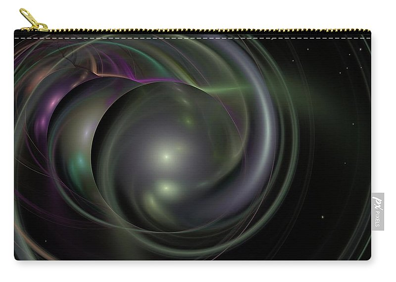 Fantasy Carry-all Pouch featuring the digital art Multiverse by David Lane