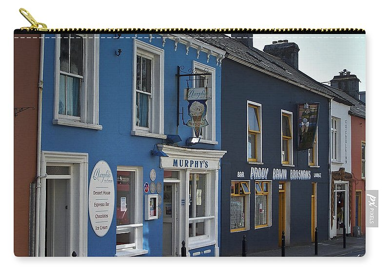 Irish Carry-all Pouch featuring the photograph Murphys Ice Cream Dingle Ireland by Teresa Mucha