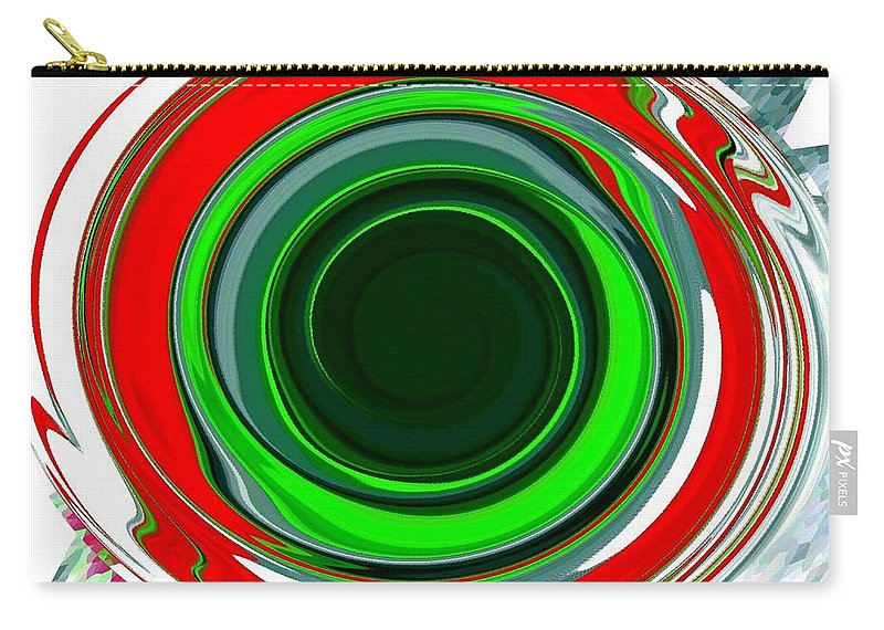 Abstract Carry-all Pouch featuring the digital art Muse 30 by Will Borden