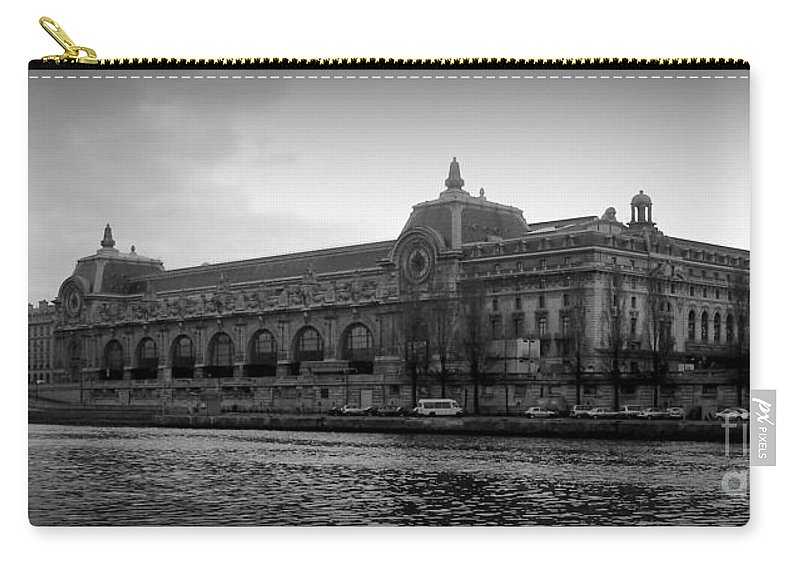 Paris Carry-all Pouch featuring the photograph Musee D'orsay by Carol Groenen
