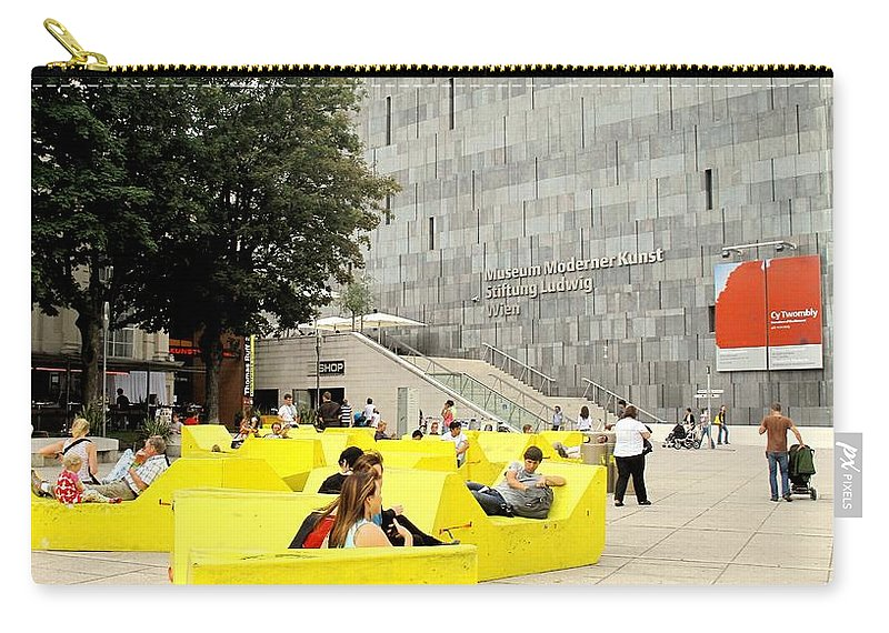 Museum Carry-all Pouch featuring the photograph Museum Modener Kunst by Ian MacDonald
