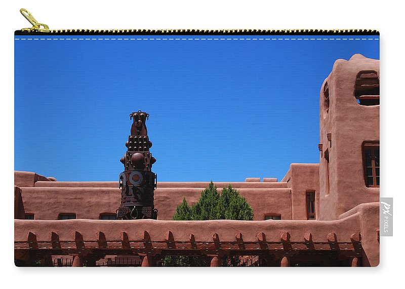 Museum Carry-all Pouch featuring the photograph Museum Of Indian Arts And Culture Santa Fe by Susanne Van Hulst