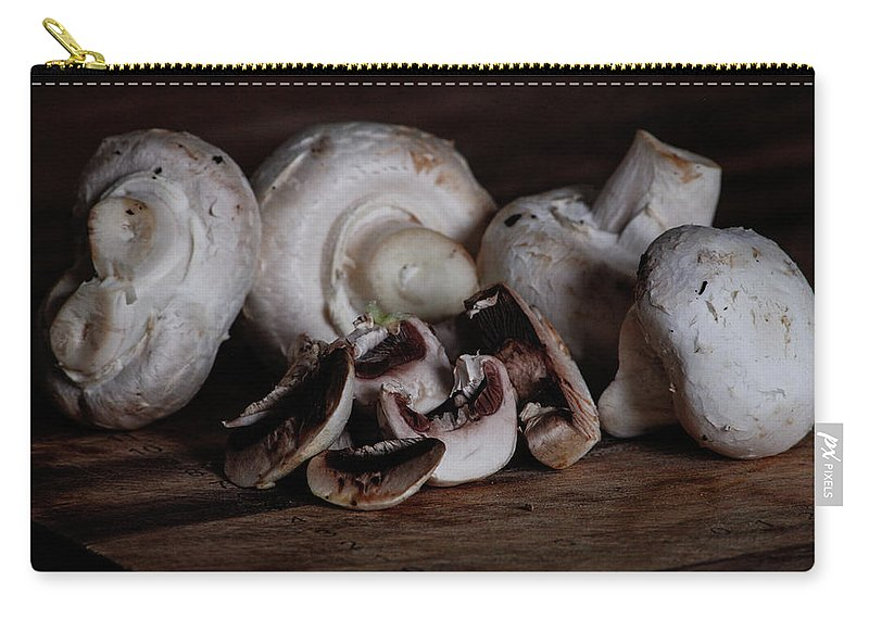 Fresh Carry-all Pouch featuring the photograph Mushrooms by Joseph Cooper