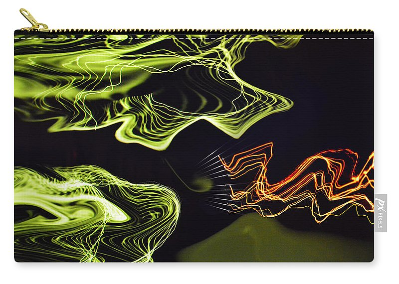 By Paul Davenport Carry-all Pouch featuring the digital art Musical Interlude 11. by Paul Davenport