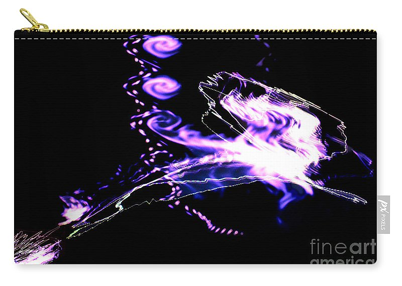 By Paul Davenport Carry-all Pouch featuring the digital art Musical Interlude 15. by Paul Davenport