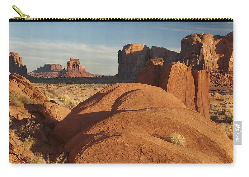 Overlook Carry-all Pouch featuring the photograph Mv Overlook 7297 by Bob Neiman