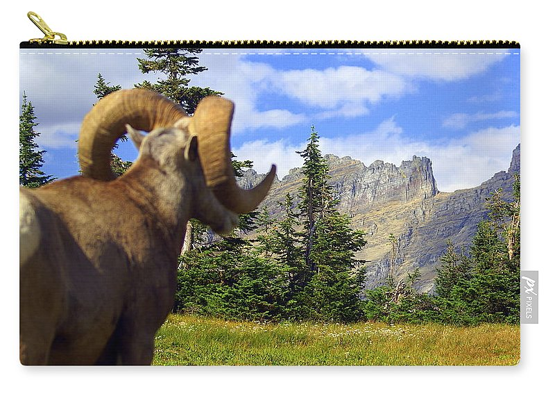 Glacier National Park Carry-all Pouch featuring the photograph My Kingdom by Marty Koch