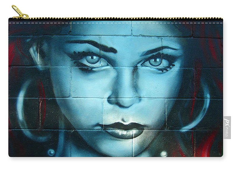 Paint Carry-all Pouch featuring the photograph My Lady ... by Juergen Weiss