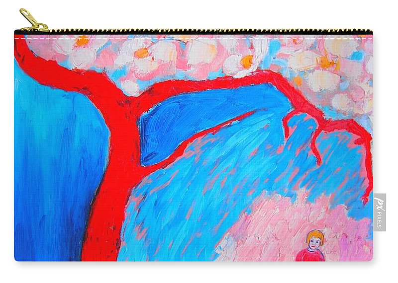 Spring Carry-all Pouch featuring the painting My Spring by Ana Maria Edulescu