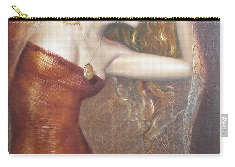 Ignatenko Carry-all Pouch featuring the painting My Talisman by Sergey Ignatenko
