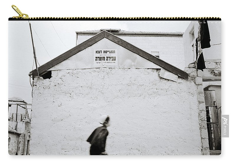 Mysterious Carry-all Pouch featuring the photograph Mysterious Jerusalem by Shaun Higson