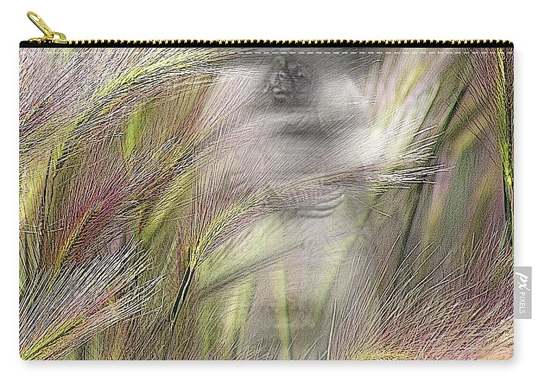 Carry-all Pouch featuring the photograph Mysterious Lady by Marty Koch