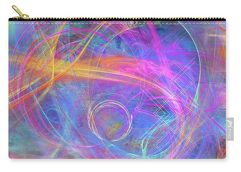 Mystic Beginning Carry-all Pouch featuring the digital art Mystic Beginning by John Beck
