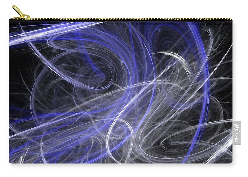 Mystic Carry-all Pouch featuring the digital art Mystic Dance by Rhonda Barrett