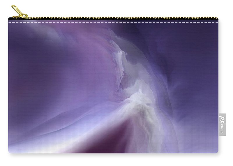 Abstract Carry-all Pouch featuring the digital art Mystic Domain by Clare Iacobelli