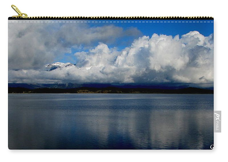 Patzer Carry-all Pouch featuring the photograph Mystic by Greg Patzer